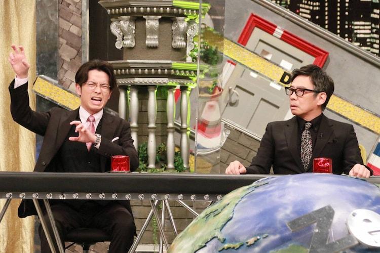 「全力!脱力タイムズ」にゲスト出演する(左から)オリエンタルラジオ藤森、生瀬勝久。(c)フジテレビ