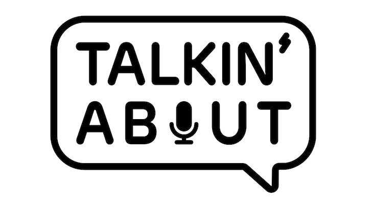 「TALKIN' ABOUT」ロゴ