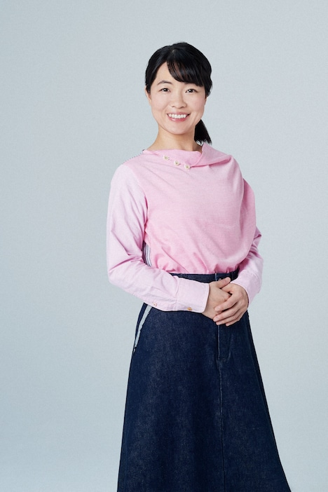 「テレビで中国語」を担当する、イモトアヤコ。