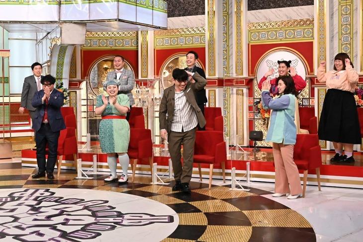「金スマ芸人アカデミー賞」の出演芸人たち。(c)TBS