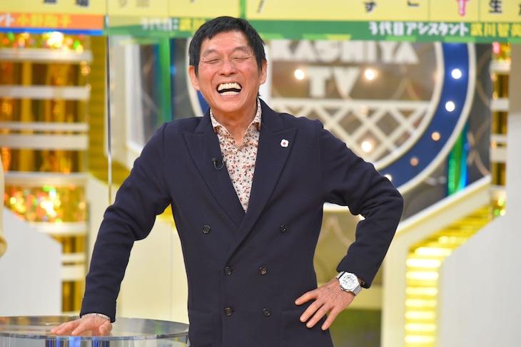 「明石家電視台」MCの明石家さんま。