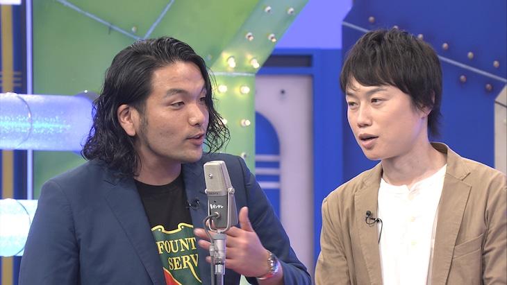 「漫才マン2021」に出演する見取り図。(c)関西テレビ