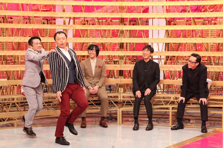中川家と東京03。(c)BSフジ