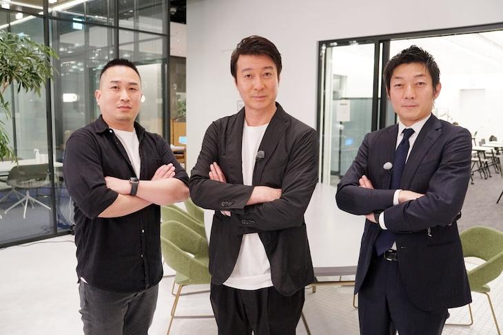 左から児玉太郎氏、加藤浩次、伊藤隆行氏。(c)テレビ東京