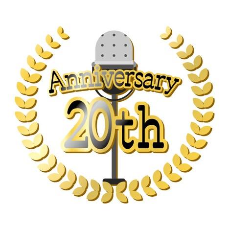 ルミネtheよしもと20周年ロゴ