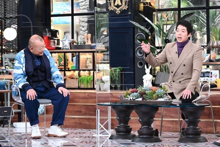 「A-Studio+」に出演する笑福亭鶴瓶と今田耕司。(c)TBS