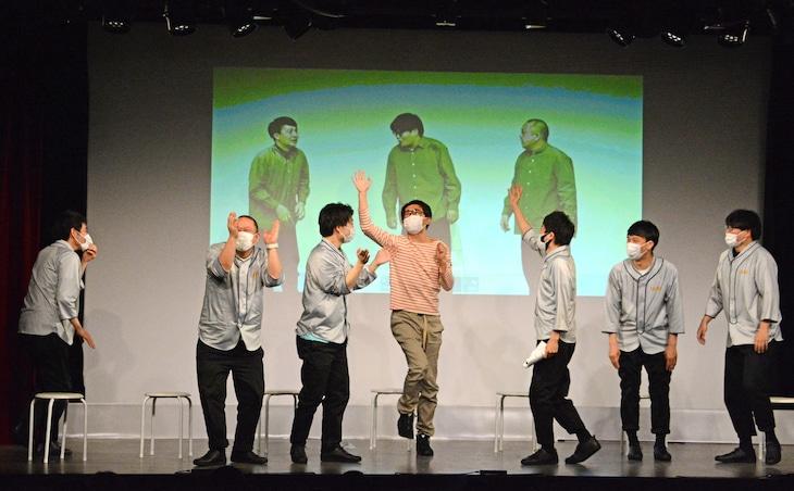 「メトロンズ第1回公演『副担任会議』直前イベント」の様子。