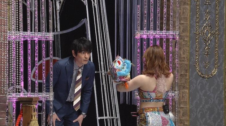 左から博多大吉、スターライト・キッド。(c)日本テレビ