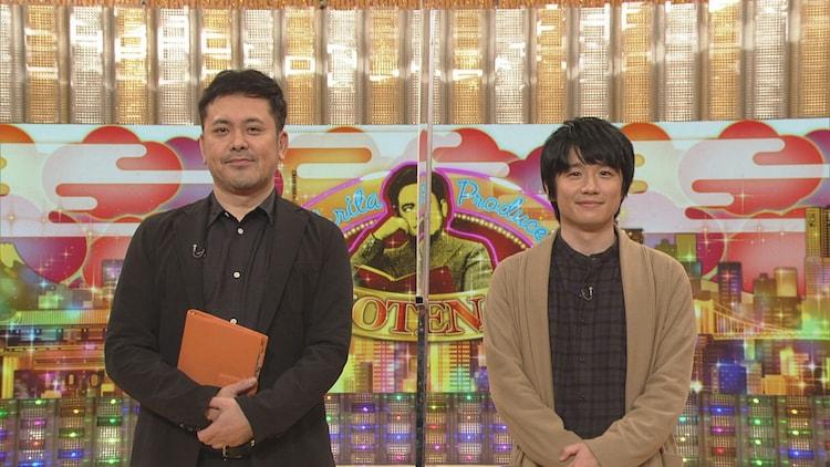 有田P(左)とゲストの風間俊介(右)。