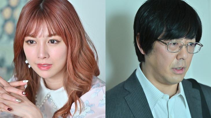 Paraviオリジナルストーリー「リコハイ!!」に出演する(左から)結城モエ、東京03豊本。(c)TBS