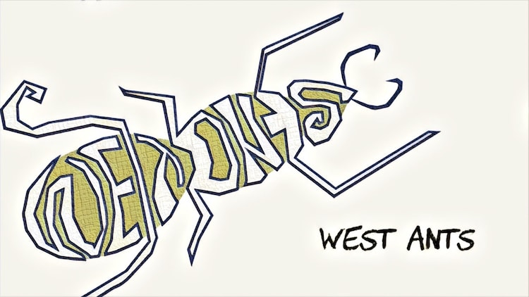 WEST ANTSのロゴ。