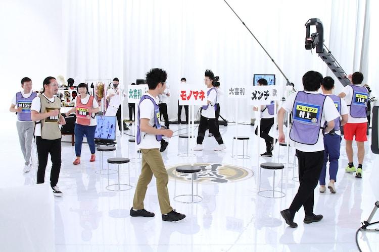 >「千原ジュニアの座王」チャンピオン大会のワンシーン。(c)関西テレビ