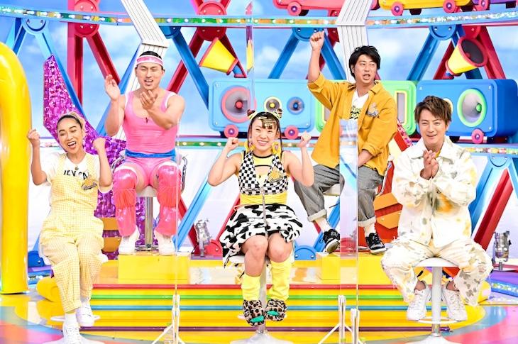 フワちゃんチーム (c)TBS