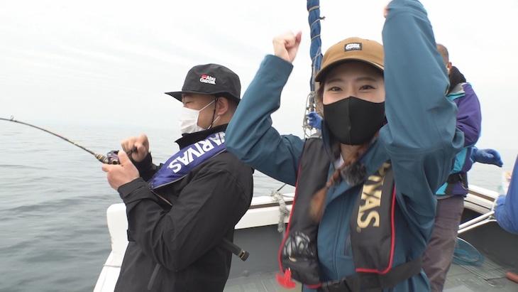 「釣り聖地化TV」より。(c)NIB長崎国際テレビ