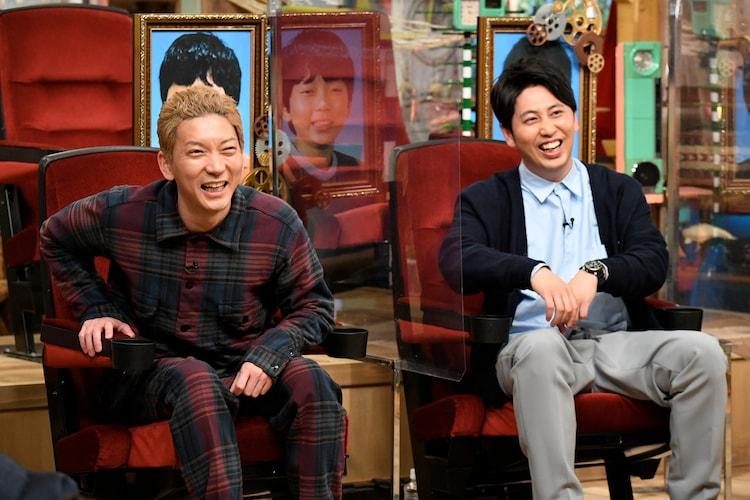 「あいつ今何してる?」にゲスト出演するニューヨーク。(c)テレビ朝日