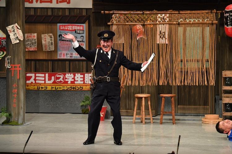 2019年に「吉本新喜劇60周年開幕イベント~60周年だよ!吉本新喜劇!~」に出演したチャーリー浜。(c)吉本興業