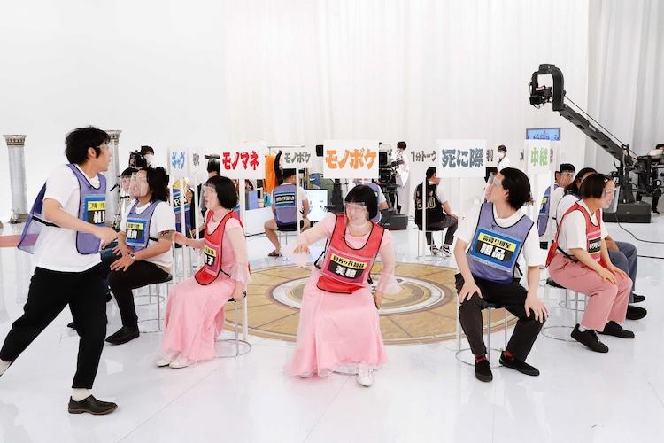 「笑いの総合格闘技!千原ジュニアの座王」のワンシーン。(c)関西テレビ