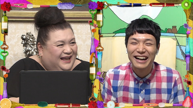 左からマツコ・デラックス、もう中学生。(c)日本テレビ
