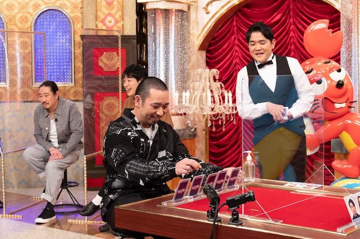 「テレビ千鳥」で展開される「芸人ポーカーグランプリ」のワンシーン。(c)テレビ朝日