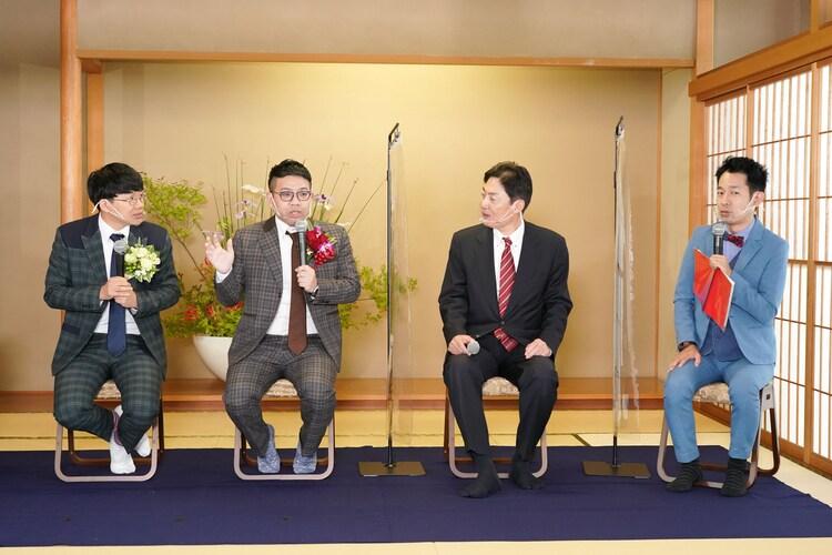 「Ikenobo『花の甲子園2021』」アンバサダー就任会見の様子。