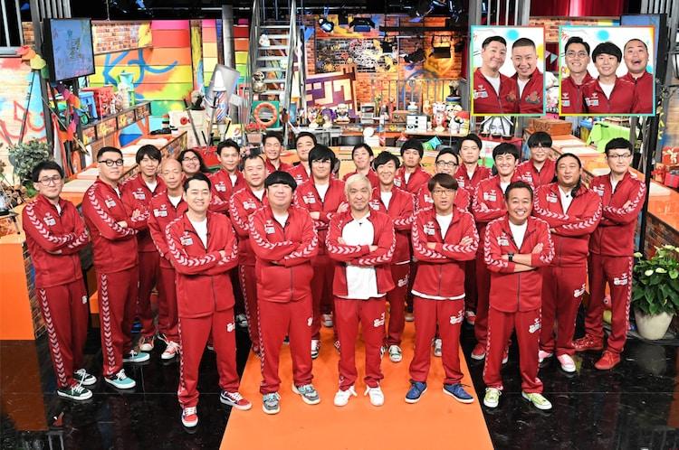 「キングオブコントの会」に出演する芸人たち。(c)TBS