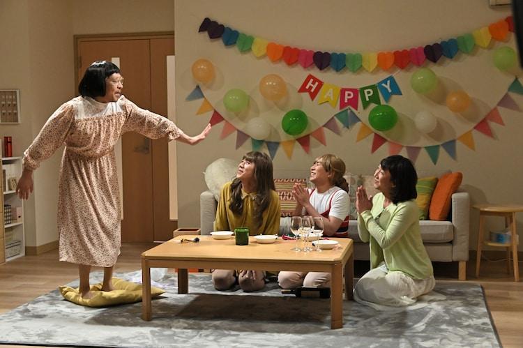 「おめでとう」のワンシーン。(c)TBS
