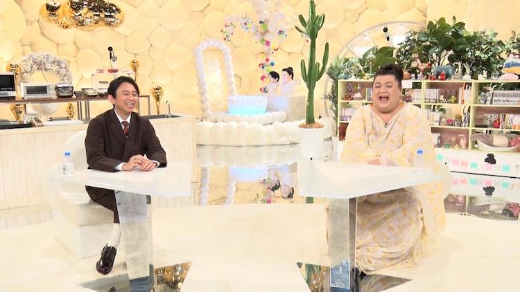 有吉弘行とマツコ・デラックス。(c)テレビ朝日