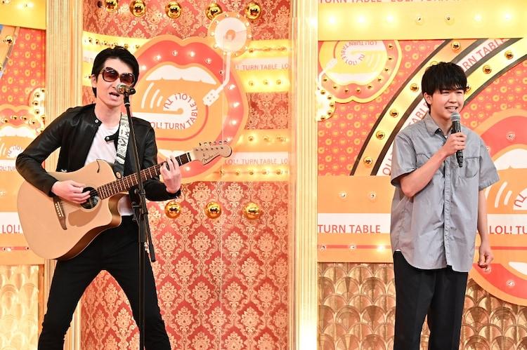 SAKURAIと鈴木福。(c)TBS