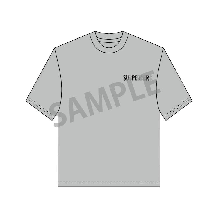 サスペンダーズTシャツ(表面)