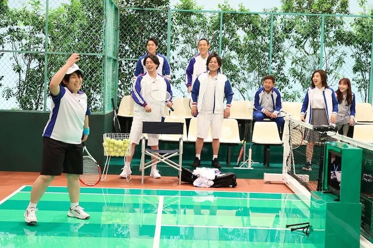 「テニスの三字様」のワンシーン。(c)フジテレビ