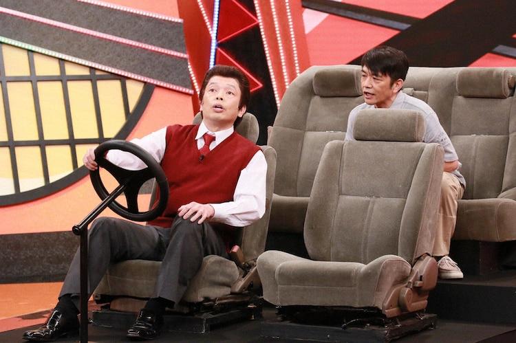 「お笑い実力刃」でコントを披露する中川家。(c)テレビ朝日