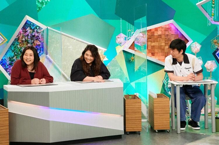 海原やすよ ともこ、藤崎マーケット・トキ。(c)ABCテレビ