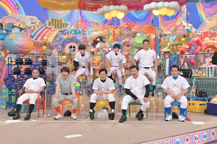 「元野球部芸人」たち。(c)テレビ朝日