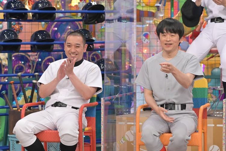 千鳥・大悟とバカリズム。(c)テレビ朝日