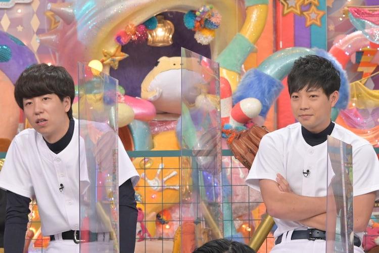 ニッポンの社長・辻とティモンディ前田。(c)テレビ朝日