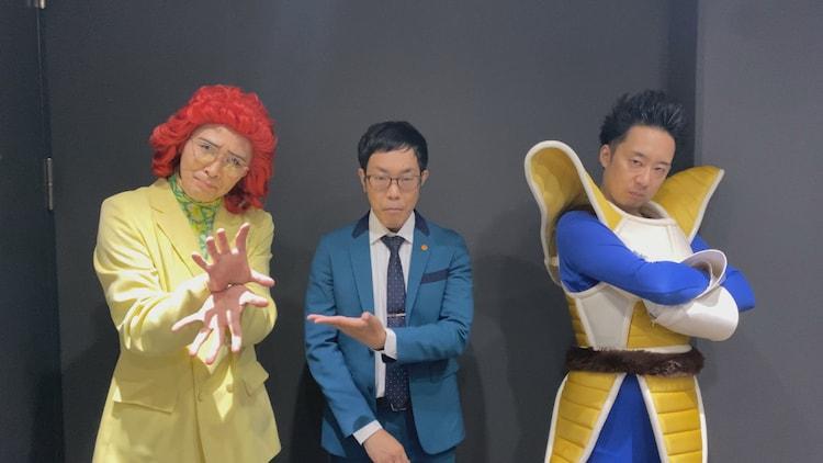 アイデンRとして「キングオブコント2021」に出場する、アイデンティティとR藤本(右)。