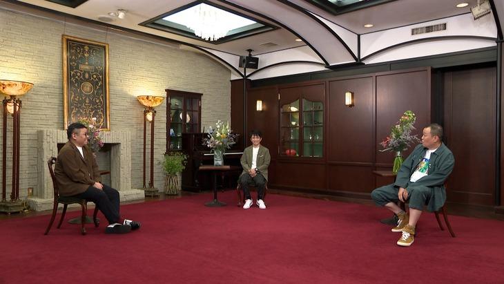 「ボクらの時代」に出演する(左から)ミキ昴生、中川家・剛、千原せいじ。(c)フジテレビ