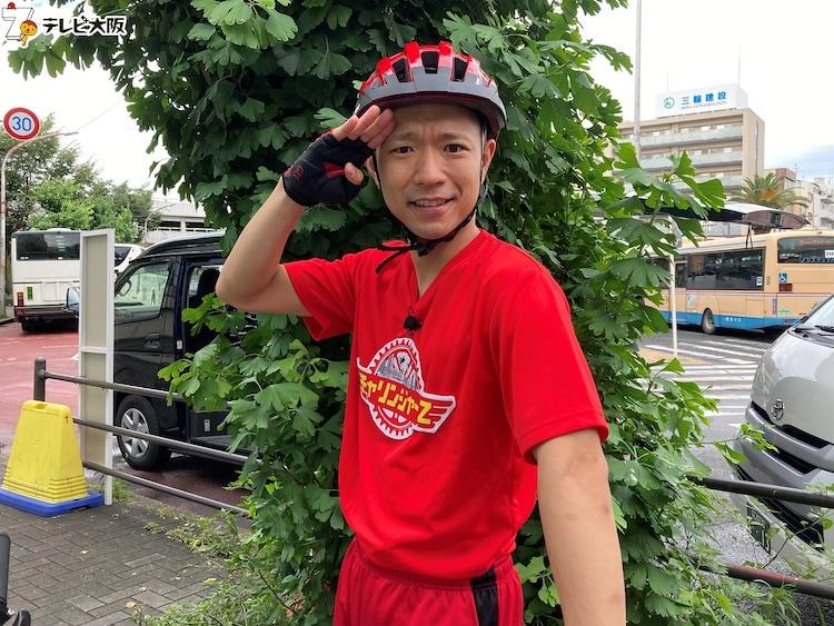 「チャリンジャーZ」に出演する今井らいぱち。(c)テレビ大阪