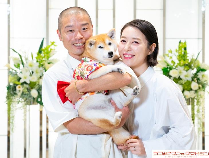 結婚したアキナ山名と宇都宮まき。(c)ラフ&ピース ニュースマガジン