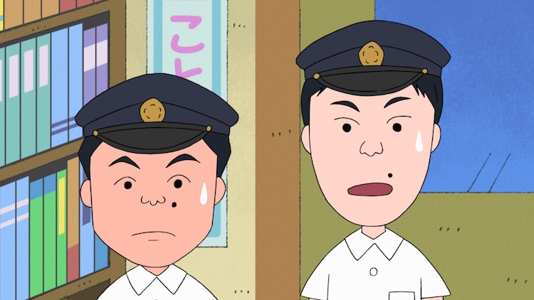 かまいたちが演じる高校生2人組。(c)さくらプロダクション/日本アニメーション