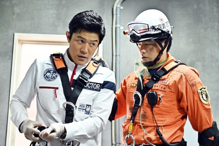 「TOKYO MER~走る緊急救命室~」第5話より。