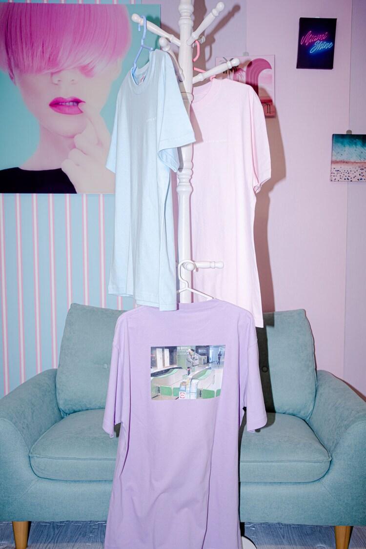 ラバーガール「KIPPU de TROUBLE」Tシャツの新色。