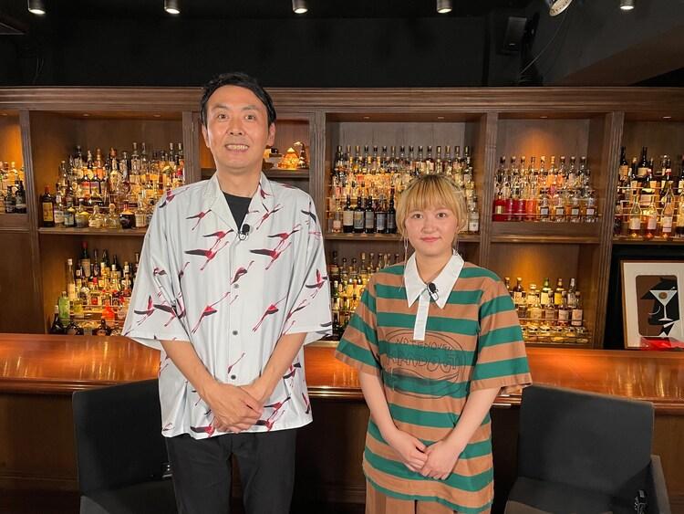 アンガールズ田中とラランド・サーヤ。(c)関西テレビ