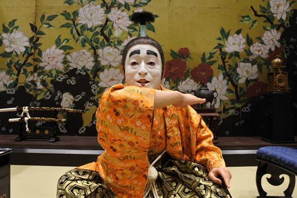 「志村けんの大爆笑展」の写真撮影スポットとなっている「リアルバカ殿様」。(c)イザワオフィス / フジテレビ