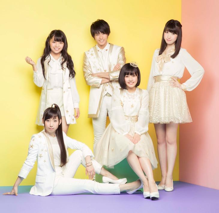 Dream5。左下は今年4月に卒業した玉川桃奈。