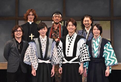 上段左より小谷嘉一、谷口賢志、村田洋二郎。下段左より西田大輔、柾木玲弥、和田琢磨、北村諒。