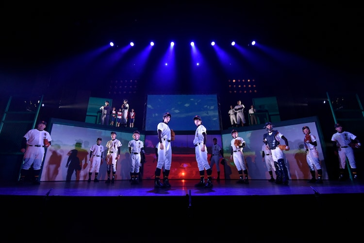 「ダイヤのA The LIVE II」公開ゲネプロの様子。