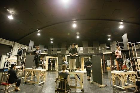 ミュージカル「グランドホテル」Team RED稽古より。(C)RYOJI FUKUOKA