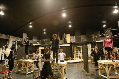 ミュージカル「グランドホテル」Team GREEN稽古より。(C)RYOJI FUKUOKA