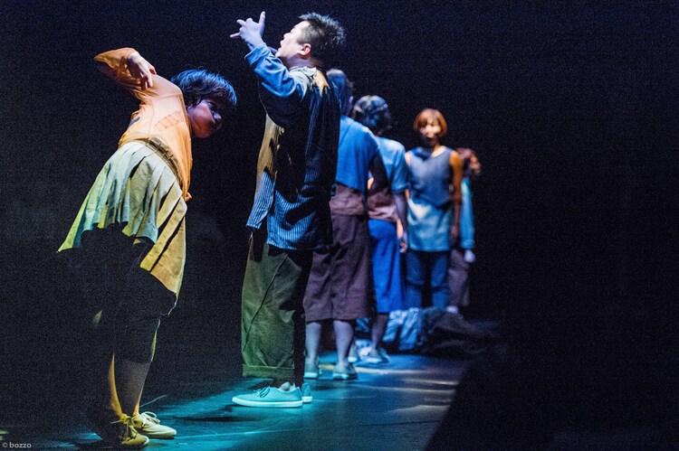 2015年に上演されたGERO旗揚げ公演「くちからでる」より。